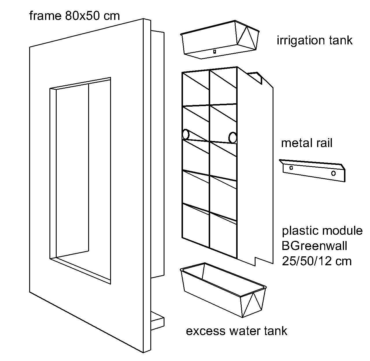 FrameGoGreen install kit drawing